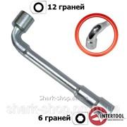 Ключ торцовый с отверстием L-образный 17мм HT-1617 фото