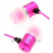 Гарнитура KitSound Ace In-Ear Headphones with mic Pink (KSACEMPI) фото
