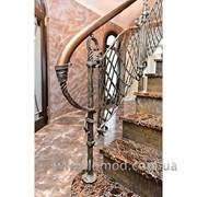 Лестница деревянная. Модель Виктория. фото