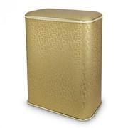 Корзина для белья Cameya FLOWER золото/кант зол., большая арт. FGG-B фото