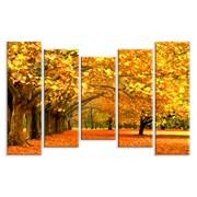 Картина Осенние деревья фото