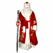 Прокат костюма Деда Мороза и Снегурочки фото