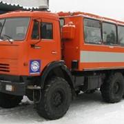 Автобус вахтовый 4208, КАМАЗ 43114 фото