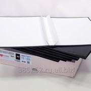 Обложка для твердого переплёта бесканальная с шириной корешка 20 мм, книжная, чёрная фото