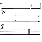 Заготовка расточных резцов ВК6 ОСТ 48-34-74 фото