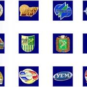 Разработка логотипов, товарных знаков, гербов фото