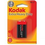 Батарейка Kodak Extra Heavy Duty AA 6F22 крона фото