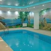 Строительство плавательных бассейнов фото