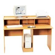 Стол для кабинета информатики (1404х704х996 мм) мебель для школ, ВУЗов и др. учебных заведений, артикул 80368 фото