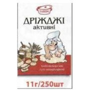 "Дрожжи сухие активные ТМ ""Таперс"" в пакетих по 11 г фото"