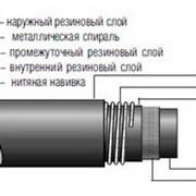 Рукава резиновые напорно-всасывающие гофрированные с нитяным усилением ТУ 2552-104-05800952-94 фото