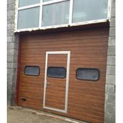 Ворота в гараж фото