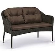 Плетеный диван S54A-W53 Brown фото