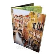 Стильная обложка на паспорт Венеция фото