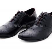 Туфли мужские TEZORO чёрного цвета 196 фото