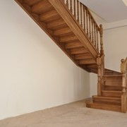 Лестница дизайн D078 фото