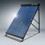Солнечный коллектор на вакуумных трубках фото