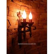 Кованый светильник Candle № 6 фото