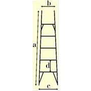 Лестницы диалектрические навесные фото