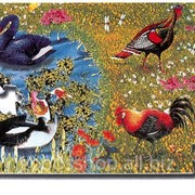 Развивающий коврик Puzzle World Животные 54 эл 120PM-D-PN фото