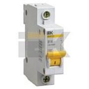 Выключатель автоматический 1-пол.25A B 4,5кА ВА47-29 IEK фото