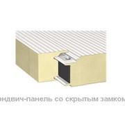 Сэндвич-панели для холодильных и морозильных камер со скрытым замком. Сэндвич-панели холодильных и морозильных складов фото