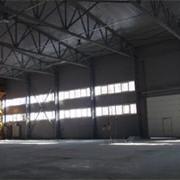 Строительство промышленных помещений фото
