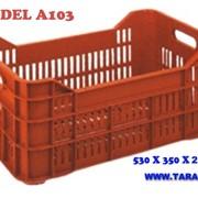 Перфорированный ящик для фруктов и овощей, А103 фото