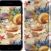 Чехол на iPhone 6 Морские ракушки 2244c-45 фото