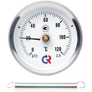 Термометр биметаллический общетехнический коррозионностойкий БТ специальный с пружиной фото