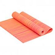 Коврик для йоги 4 мм оранжевый IR97501CH-04 фото