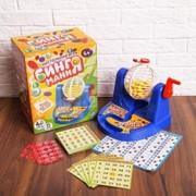 Настольная игра на развитие логики и счёта - Бинго маниЯ, 35 двусторонних карточек фото