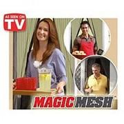 Анти москитная магнитная шторка Magic Mesh TV-062 фото