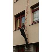 Лестница навесная спасательная пожарная Самоспас 15 фото
