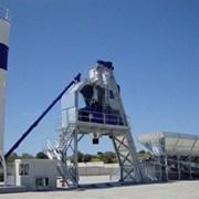 Быстромонтируемый бетонный завод F-90 (90 м3/ч)  фото