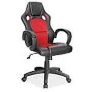 Кресло компьютерное Signal Q-103 (черно-красный) фото
