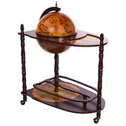 Глобус-бар напольный со столиком 85х80х40см. арт.JF-JG-33035-R фото
