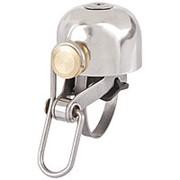 Звонок 5-420450 стальной очень долгий и громкий 100Дб D=30мм серебристый M-WAVE фото