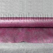 Флизелин металлизированный ежевичный 50см/10м 006784 фото