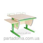 Парта-трансформер СУТ.14-02 клён/зеленый фото
