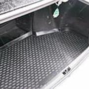 Коврик в багажник Toyota Mark2 2000-2004 (полиуретановый с бортиком короткий) фото
