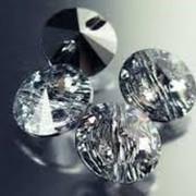 Хрустальные пришивные пуговицы. Имитация пуговиц Сваровски Crystal. фото