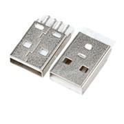 Штекер USB 180° на плату (С42) фото