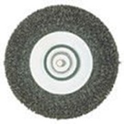 Щетка стальная 75 мм,круглая,тонкая Код: 630550000 фото
