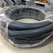 Шланг ПВХ (канализационный) армированный спиралью d63 фото