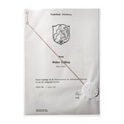 Защитный карман для документов A4, сверхпрочный полипропилен Прозрачный фото