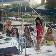 Аренда красивейшей парусной яхты 11м (для 2-8 человек) фото