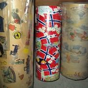 Винтажная упаковочная бумага в Минске. Подарочная бумага. Оберточная бумага. фото