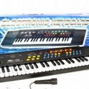 Синтезатор с микрофоном SK-3738 фото