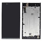 Дисплей для Highscreen Pure Power Черный в сборе с тачскрином на рамке (уценка) фото
